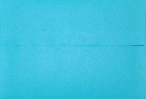 4x6 Photo Envelope: Bright Blue