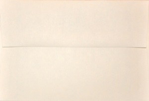 4x6 Photo Envelope: Cream
