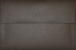 4x6 Photo Envelope: Dark Brown