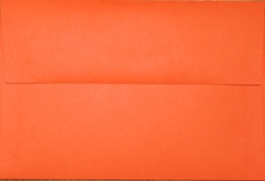 4x6 Photo Envelope: Orange