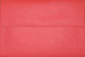 4x6 Photo Envelope: Red