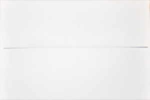 4x6 Photo Envelope: White