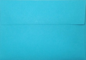 A1 Envelope: Bright Blue