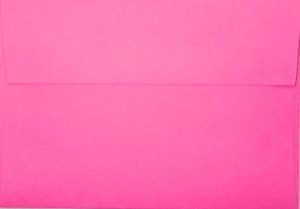 A1 Envelope: Hot Pink