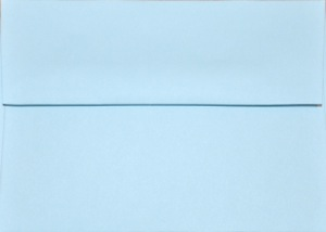 A1 Envelope: Light Blue