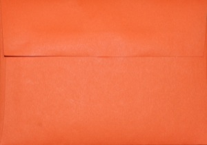 A1 Envelope: Orange