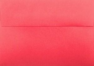 A1 Envelope: Red