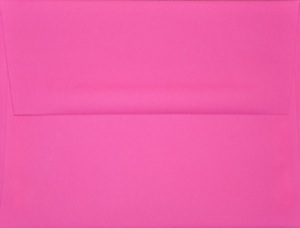 A2 Envelope: Hot Pink