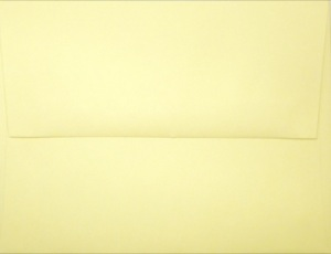 A2 Envelope: Light Yellow