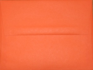 A2 Envelope: Orange