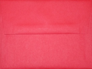 A2 Envelope: Red