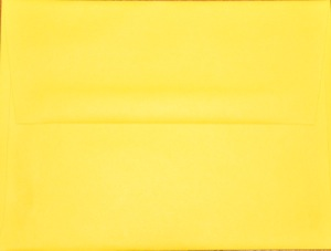 A2 Envelope: Yellow