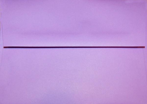 a7 envelope purple