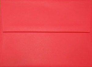 A7 Envelope: Red